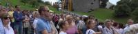 Alle gæsterne i fyrstens slot i Liechtenstein