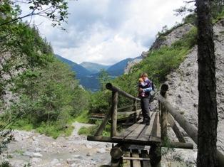 Vandring i Kärnten, Østrig