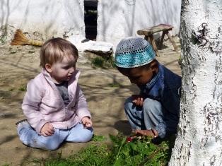 To familier mødes i Usbekistan
