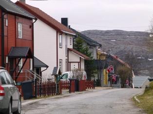 Kirkenes i Norge