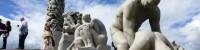 Globetrotterfamilien besøger Oslo og Vigeland Parken