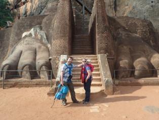 Sigiriya – Løveklippen med børn og højdeskræk