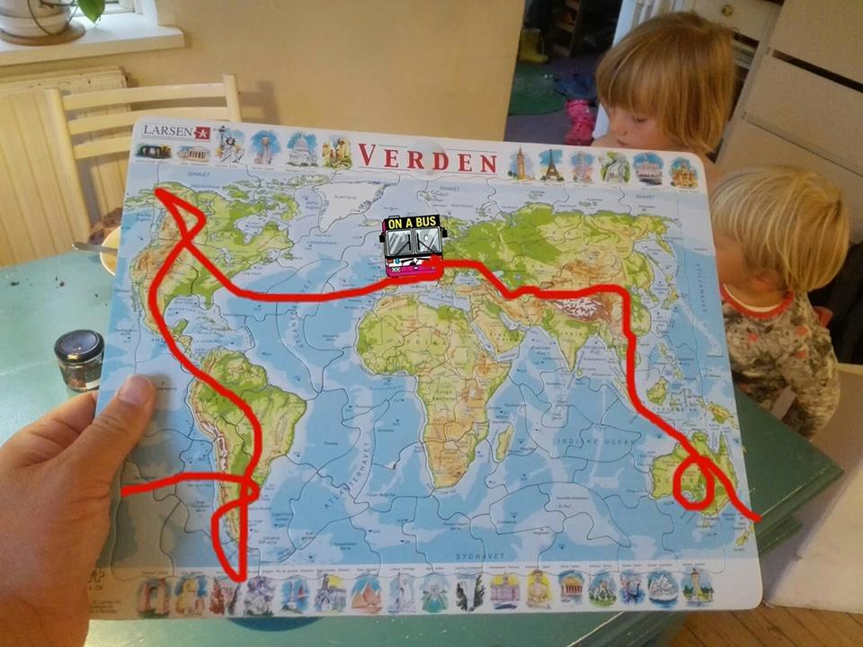 Overvejelser om ruten jorden rundt